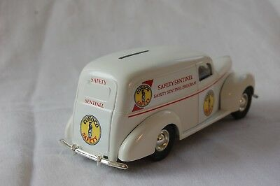 """1940 Ford Panel Van Bank - Conoco Safety - """"Safety Sentinel"""""""