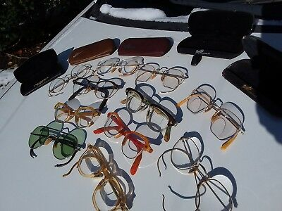Ray-Ban B&L USA Sunglasses, Safety Glasses, Gold Filled Vintage ~ Lot