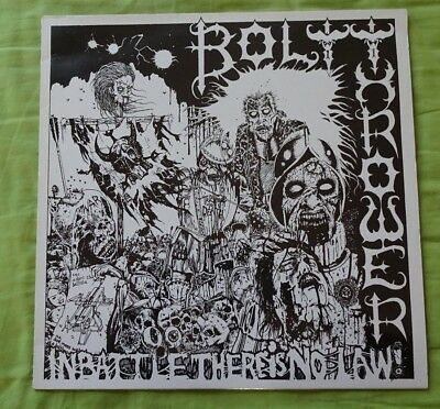 """Bolt Thrower - """"In Battle There Is No Law!"""" Album in Vinyl - Top Zustand"""