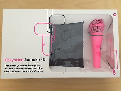 Lucky Voice Karaoke Kit very good item L@@k