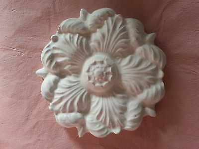 Flower rubber latex mould mold pediment embellishment decor Interior Exterior