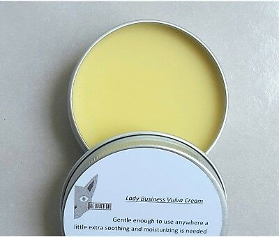 Organic Vaginal Moisturizer Lubricant Natural pH Intimate Vulva Balm Yoni Cream