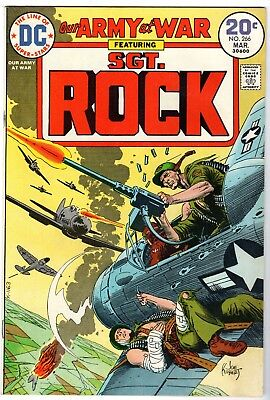 Our Army at War with Sgt. Rock #266, Fine Condition