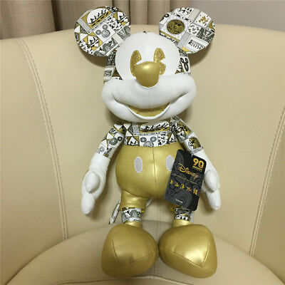 NWT 18in Mickey Mouse Plush 90th Birthday Shanghai disney disneyland