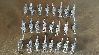 25-28mm NAPOLEONIC PRUSSIAN MUSKETEER RGT MARCHING