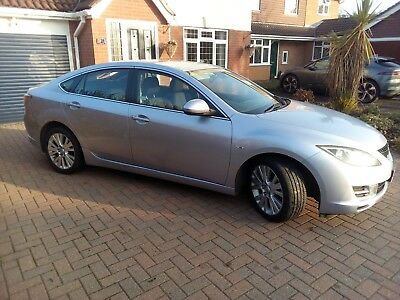 2008 MAZDA 6 2.0 TD TS2 5dr (07 – 10 model) with Faults.
