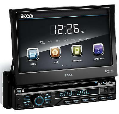 "Boss BV9967B 7"" inch Touch Screen DVD/MP3/CD/AM/FM/Bluetooth New Car Stereo"