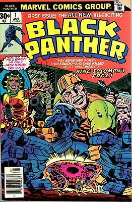1977 Black Panther Comic #1 First Issue from Marvel Comics FREE SHIPPING!!!
