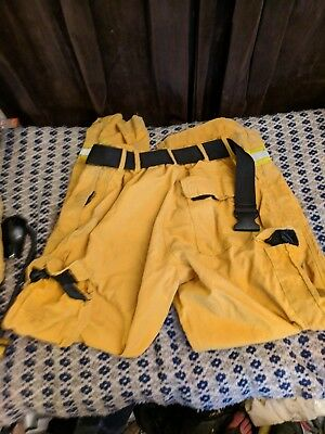 Fire Etc. Crew Boss Western Shelter Firefighter Brush Fire Turnout Pants 38X32