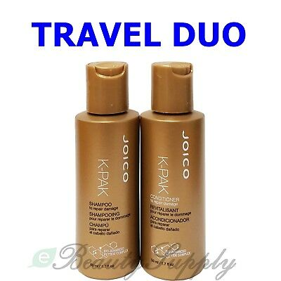 JOICO K-PAK TO Repair Damage Shampoo and Conditioner Travel Size Duo 1 7 oz  ea