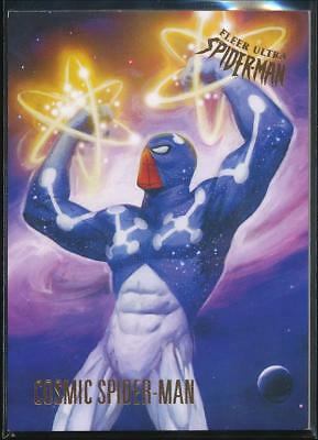 2017 Fleer Ultra Spider-Man Trading Card #22 Cosmic Spider-Man