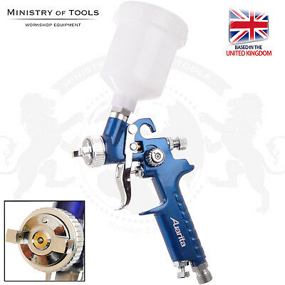 HVLP 1.0mm Mini Spray Gun H-2000 AUARITA High Volume Low Pressure Painting Gun