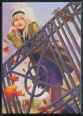 2017 Fleer Ultra Spider-Man Trading Card #23 Gwen Stacy