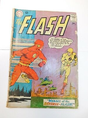 The Flash #139 (Sep 1963, DC) First Reverse Flash CHECK PICS FOR COND