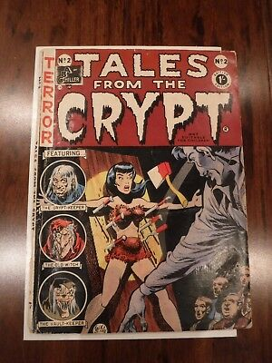 Tales From The Crypt #2- ExtremelyRare EC Comic 1954 British Edition