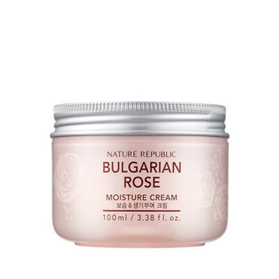 "Gangnam [NATURE REPUBLIC] ""Bulgarian Rose"" Moisture Cream 100ml, KOREA GENUINE"
