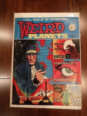 Weird Planets #2 - British comic 1962 (No # Variant cover)