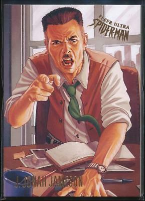 2017 Fleer Ultra Spider-Man Trading Card #47 J. Jonah Jameson