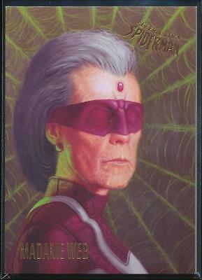 2017 Fleer Ultra Spider-Man Trading Card #56 Madame Web