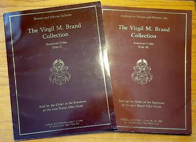 Bowers & Merena Galleries - The Virgil M. Brand Collection 2 vol. 1983-1984