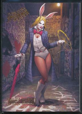 2017 Fleer Ultra Spider-Man Trading Card #59 White Rabbit