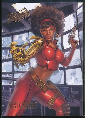 2017 Fleer Ultra Spider-Man Trading Card #60 Misty Knight