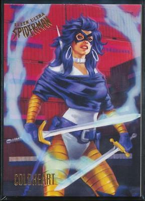 2017 Fleer Ultra Spider-Man Trading Card #61 Coldheart