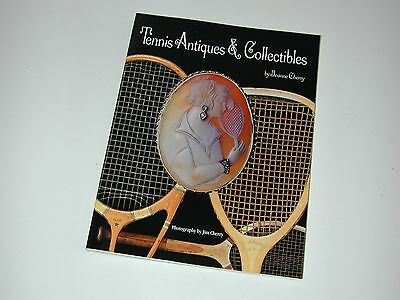 """Tennis Antiques & Collectibles"" by Jeanne Cherry - 1995 - Paperback - Excellent"
