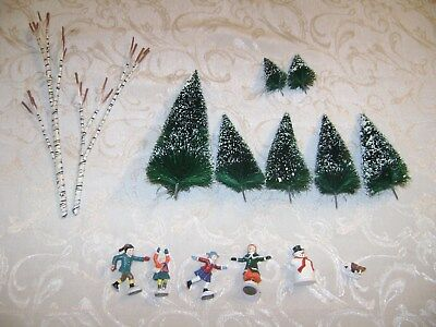 Dept. 56 Village Animated Skating Pond Accessories Replacement Parts