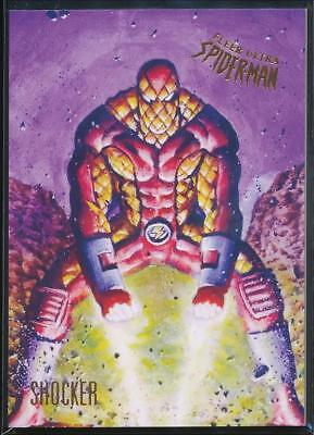 2017 Fleer Ultra Spider-Man Trading Card #87 Shocker
