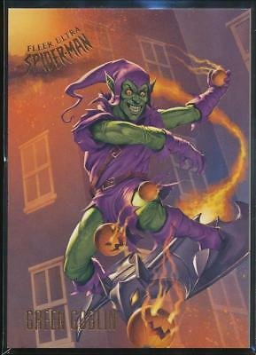 2017 Fleer Ultra Spider-Man Trading Card #96 Green Goblin