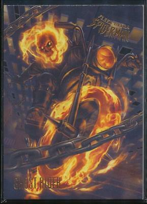 2017 Fleer Ultra Spider-Man Trading Card #98 Ghost Rider