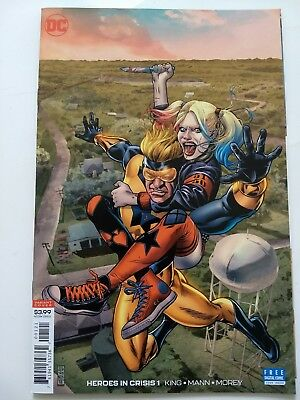 DC HEROES IN CRISIS #1 of 7 (2018) GOLD QUINN VARIANT DC COMICS NM