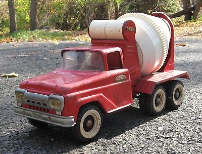 Vintage Tonka 1960s Cement Mixer #620 Pressed Steel Truck One-Owner