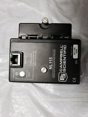 Campbell Scientific NL115 Ethernet Interface And CompactFlash Module
