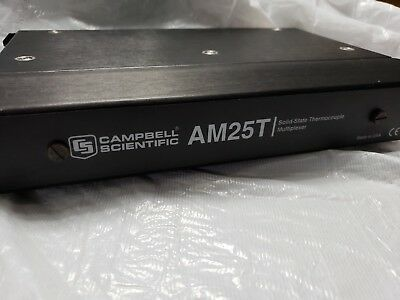 Campbell Scientific AM25T 25 Channel Solid-state Thermocouple Multiplexer