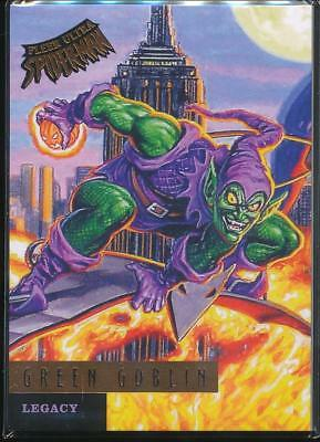 2017 Fleer Ultra Spider-Man Legacy Trading Card #L4 Green Goblin