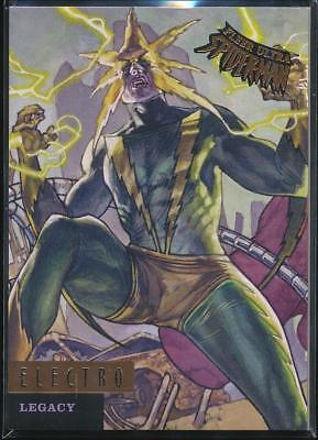 2017 Fleer Ultra Spider-Man Legacy Trading Card #L8 Electro