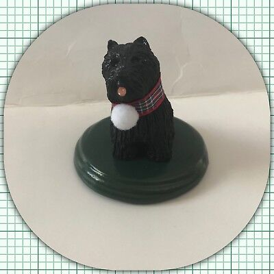 The Carolers Byers Choice Ltd. Black Scottie Singing Dog 2017 NEW (1/2)
