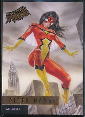 2017 Fleer Ultra Spider-Man Legacy Trading Card #L10 Spider-Woman