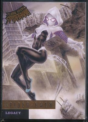 2017 Fleer Ultra Spider-Man Legacy Trading Card #L12 Spider-Gwen
