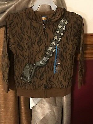 NWT KIDS STAR WARS CHEWBACCA Zippered HOODED Jacket Size 2T Disney Boys Girls