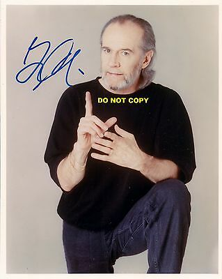 George Carlin 8X10 Authentic In Person Signed Autograph Reprint Photo Rp