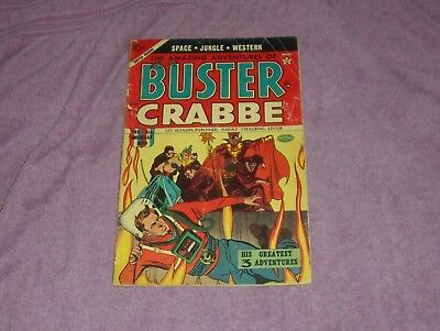 Buster Crabbe  Vol.1  #4   1954  Golden Age