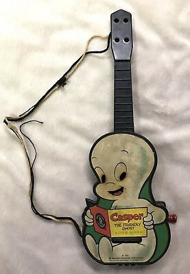 Rare Casper The Friendly Ghost 1959 Song Book Guitar