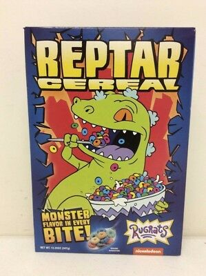 Nickelodeon Rugrats Reptar Cereal FYE Exclusive New Sealed