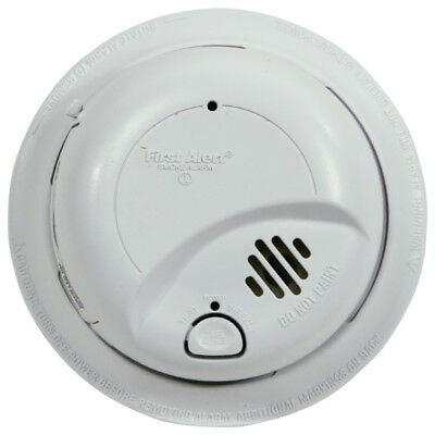 BRK First Alert 9120B AC Powered Smoke Detector & Alarm with Battery Backup