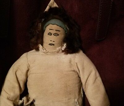 Wonderful Vintage Inuit Doll Native American Indian (old seller/new site)