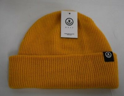 577a27609a1c7 Unisex Mens Neff Gold Serge Beanie Winter Knit Hat New NWT