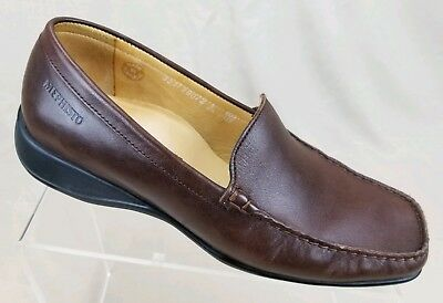 9ceb6114ead MEPHISTO Women s Loafers Air Cooled Brown Leather Slip On Comfort Shoes  Size 8.5
